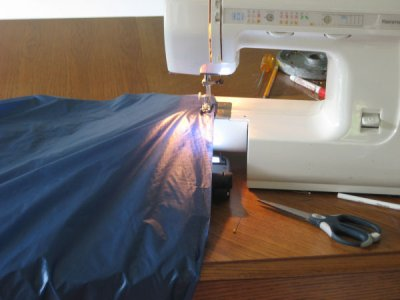 Using the Sewing Light
