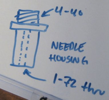 needle housing