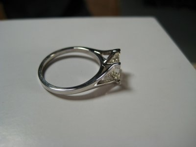 finished ring